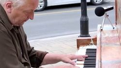 WATCH: Elderly Ontario Man Sings On Street Piano, Says