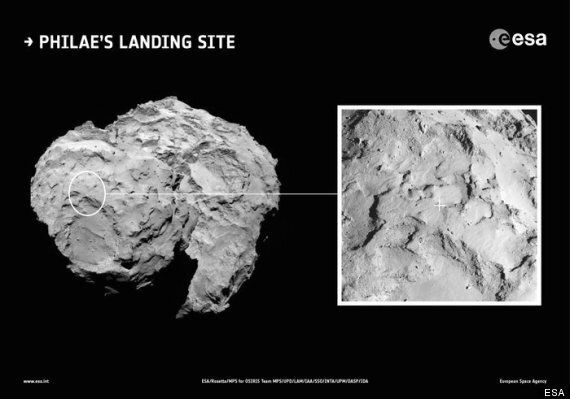 Rosetta Comet Landing: Discovery Gets Up Close And Personal With Philae
