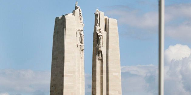 Vimy France - May 12 The Vimy Ridge Canadian memorial. Vimy Ridge became a very important victory for...