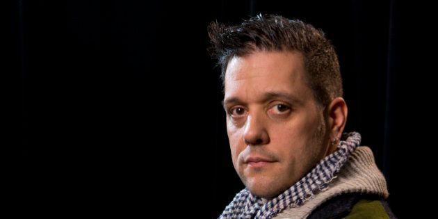 VANCOUVER, BC - DECEMBER 05: TV host George Stroumboulopoulos from 'George Stroumboulopoulos Tonight'...