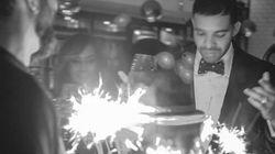 Drake Celebrates His Birthday In The