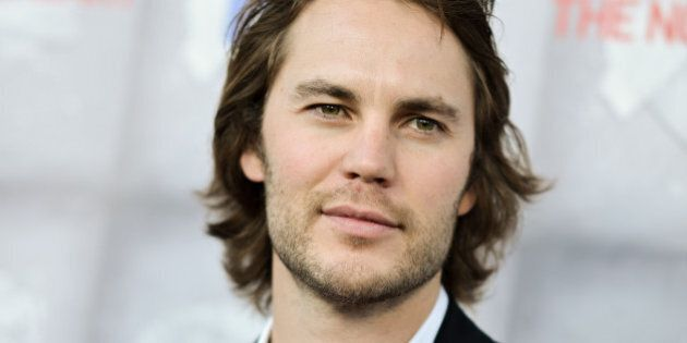Taylor Kitsch arrives at the LA Premiere