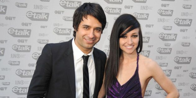 VANCOUVER, CANADA - MARCH 29: Jian Ghomeshi and Lights attend the 2009 Juno Awards at General Motors...