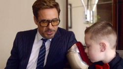 WATCH: Robert Downey, Jr. Gives The Best Gift
