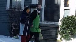 Halifax Clerk Walks Blind Woman Home In Touching