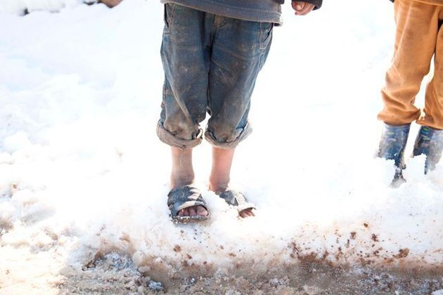 Picture Winter in a Syrian Refugee