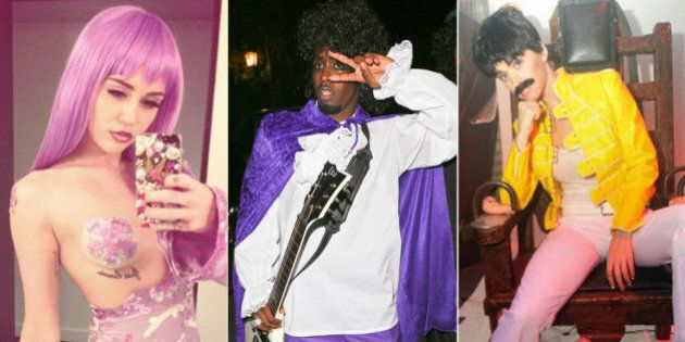 These Music Celebrity Halloween Costumes Are Rocking Our
