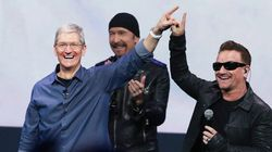 Bono Sorry For Free U2 Album, Blames 'A Drop of