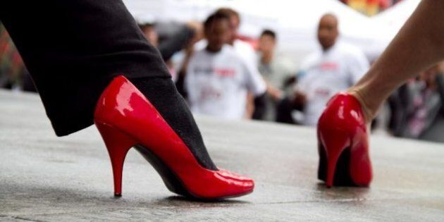 Walk A Mile In Her Shoes Toronto: 4th Annual March To End Violence Against