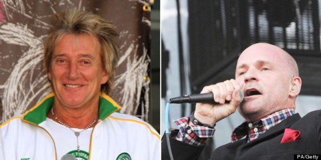 Tragically Hip's Gord Downie Breaks Down Myth Of Rod Stewart's Semen-Filled