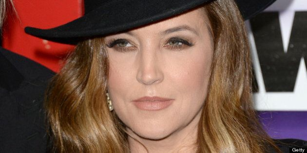 NASHVILLE, TN - JUNE 05: Lisa Marie Presley attends the 2013 CMT Music awards at the Bridgestone Arena on June 5, 2013 in Nashville, Tennessee. (Photo by Jason Merritt/Getty Images)