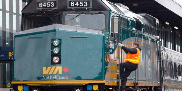 Via Rail Toronto-Ottawa Train Service To Resume Following OC Transpo