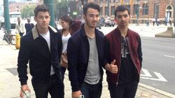 #WeDay On Twitter: Jonas Brothers Caught Roaming Free In