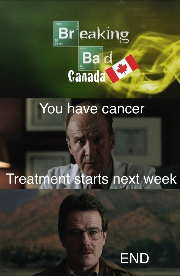 Why Breaking Bad Would Never Happen In Canada