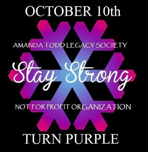 One Year After Amanda's Death, Light Up Purple for Mental