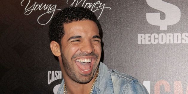 WEST HOLLYWOOD, CA - FEBRUARY 09: Drake arrives at the Cash Money Records 4th annual pre-GRAMMY Awards...