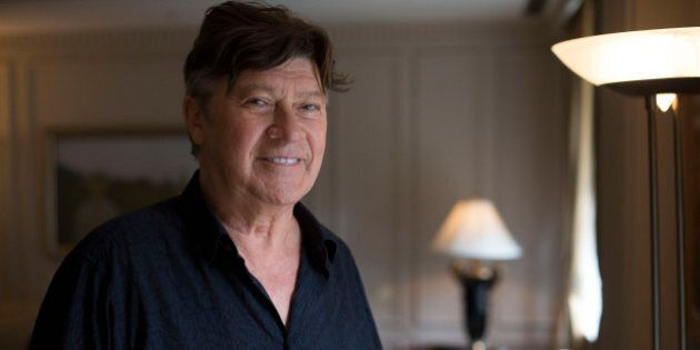 TORONTO, ON - OCTOBER 7: Recording artist Robbie Robertson during an interview at the Windsor Arms Hotel...