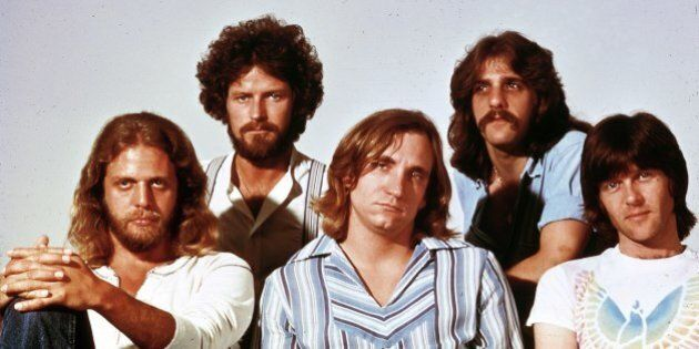 UNSPECIFIED - JANUARY 01: Photo of Glenn FREY and Joe WALSH and Don HENLEY and Don FELDER and EAGLES...