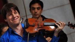 Infamously Ignored Violinist Joshua Bell Returns To