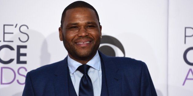 Anthony Anderson arrives at the People's Choice Awards at the Nokia Theatre on Wednesday, Jan. 7, 2015,...
