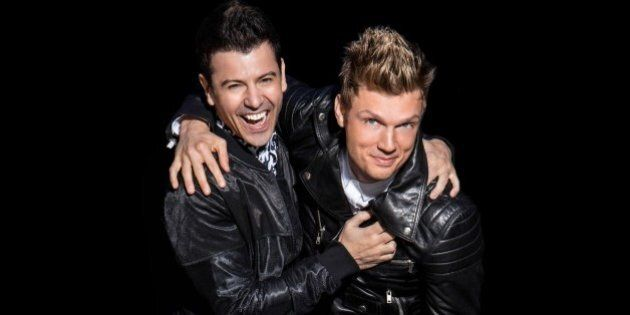 Nick And Knight: Nick Carter And Jordan Knight Talk Bromance, Struggles And