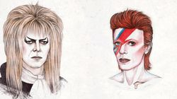 This Brilliant David Bowie GIF Illustrates 50 Years Of