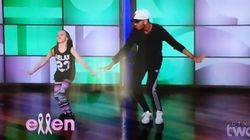 11-Year-Old's 'Anaconda' Dance Blows Ellen