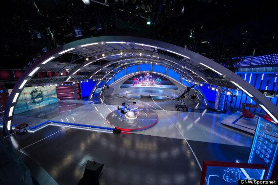 'Hockey Night In Canada''s New Home Looks Incredibly Luxe