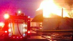 'Corner Gas' Landmark Burns To The