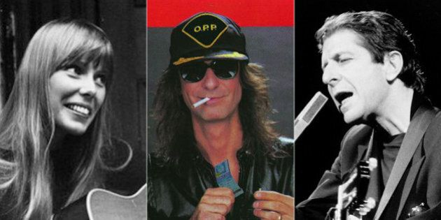 Canadian Music Icons, Then And Now (Part