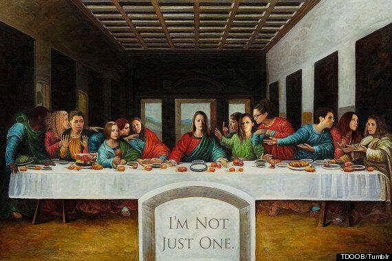 'Orphan Black' As The Last Supper: Fan Envisions TV Show Cast In Da Vinci