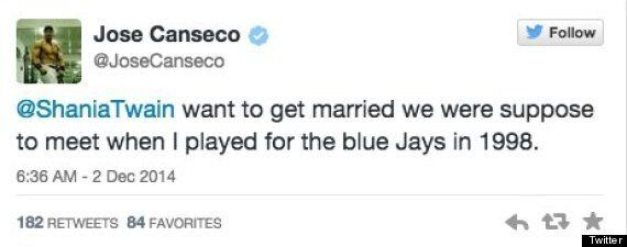 Jose Canseco To Shania Twain: Want To Get
