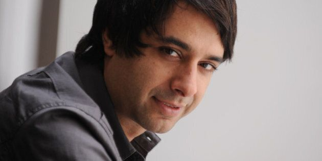 TORONTO, ON - FILE PHOTO: .Photos of CBC's Jian Ghomeshi at CBC in his office and in his studio as well...