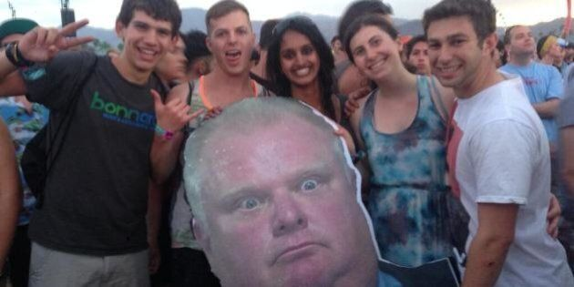 Rob Ford Is A Guiding Beacon At Coachella