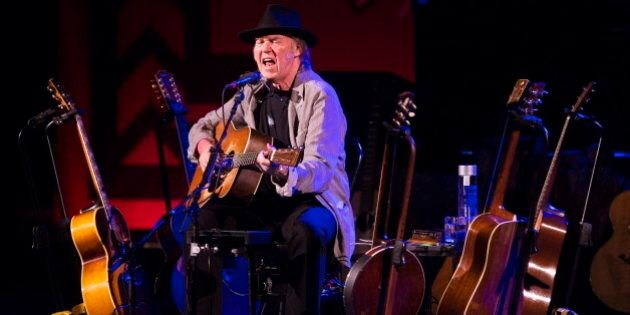 Neil Young At Massey Hall Review: Benefit Tour Heats Up With Political Notes In