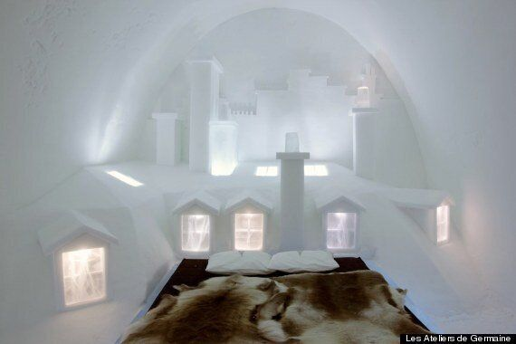 Jukkasjärvi, World's Largest Ice Hotel, Gets Parisian Influence