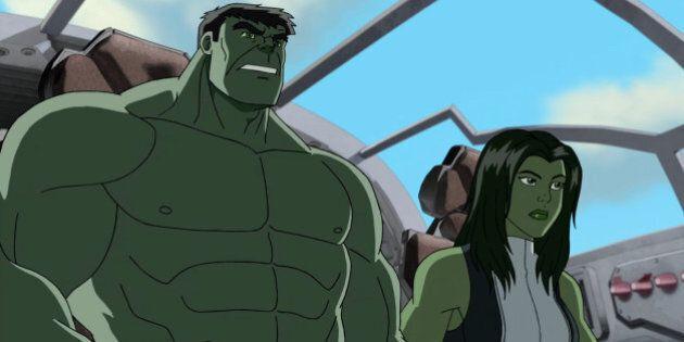 Eliza Dushku On Voicing She-Hulk And Kicking Cartoon