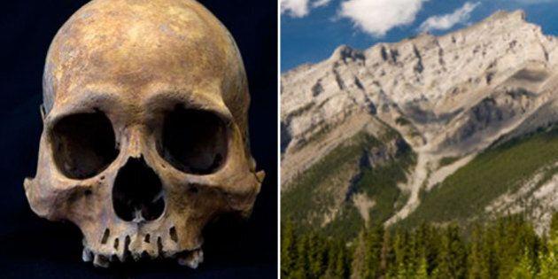 Human Skull Found In Banff On Cascade