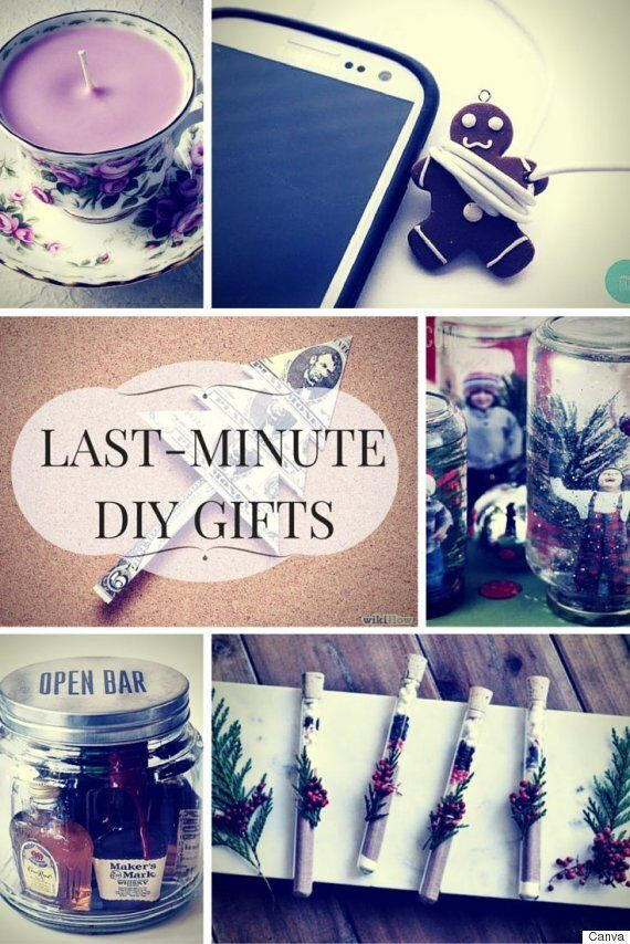 DIY Last-Minute Christmas Gifts For Creative