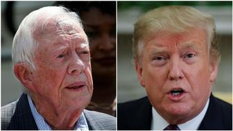 Jimmy Carter/ Donald Trump