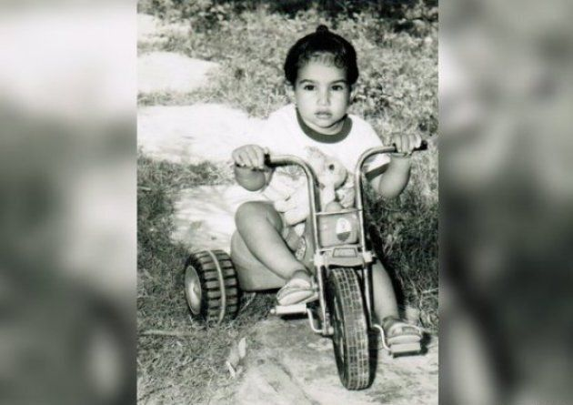 Singh in an undated childhood