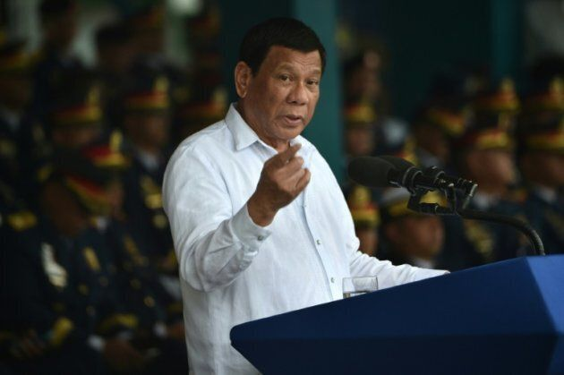 Philippine President Rodrigo Duterte, pictured in 2018, has urged Canada to take back scores of garbage...