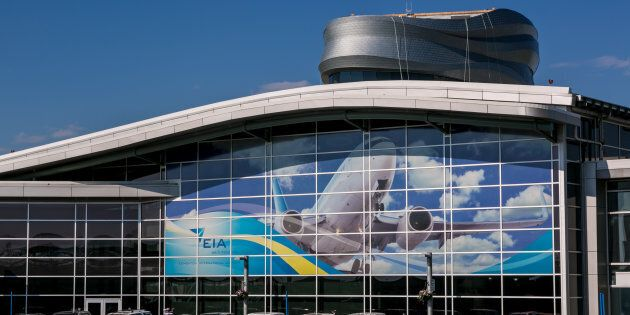 This photo shows the main terminal at Edmonton International Airport in 2013. There have been complaints...