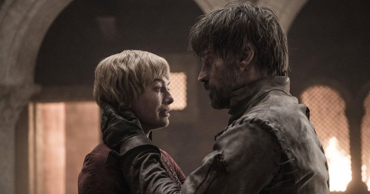 Cersei and Jaime's last moment together.