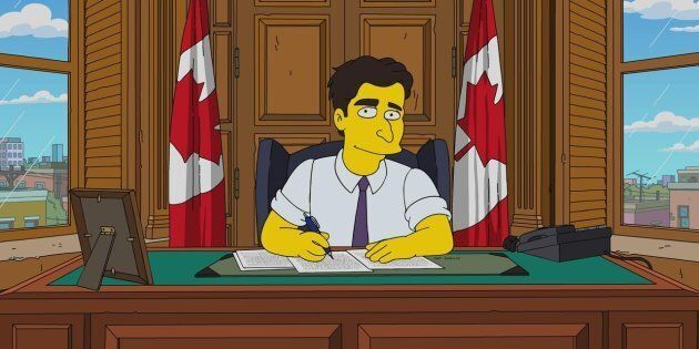 Prime Minister Justin Trudeau will be portrayed in Sunday's Canadian-themed episode