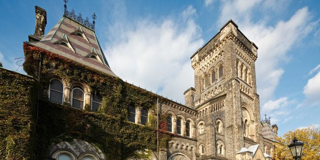 A view of the University of Toronto, one of Canada's top-rated universities. It is consistently ranked higher than most colleges in the U.S.