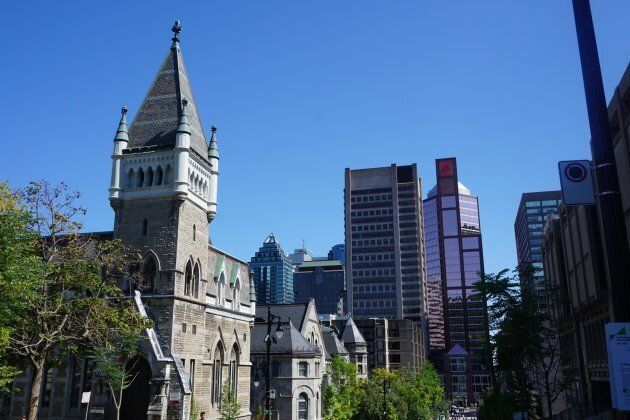 McGill Campus in Montreal,