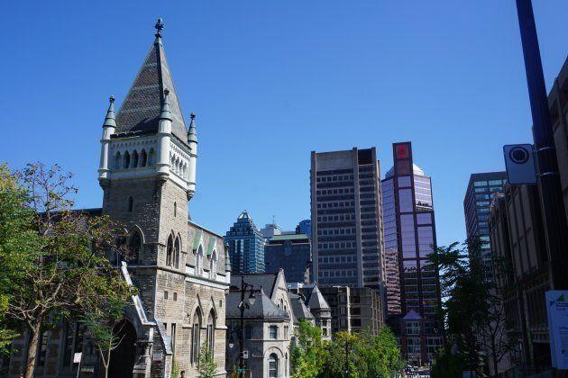 McGill Campus in Montreal, Quebec.
