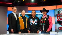Watch: How The NHL's 1st Cree Broadcast Aims To Preserve Indigenous