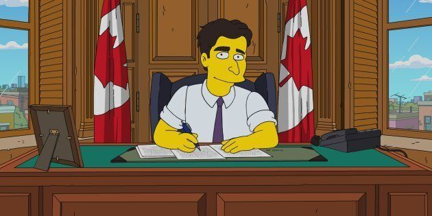 Prime Minister Justin Trudeau was recently portrayed
